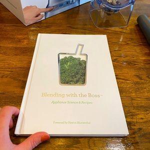 Breville Boss Blender Hardcover BOOK of Recipes